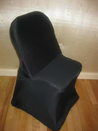 black spandex chair cover for folding chair